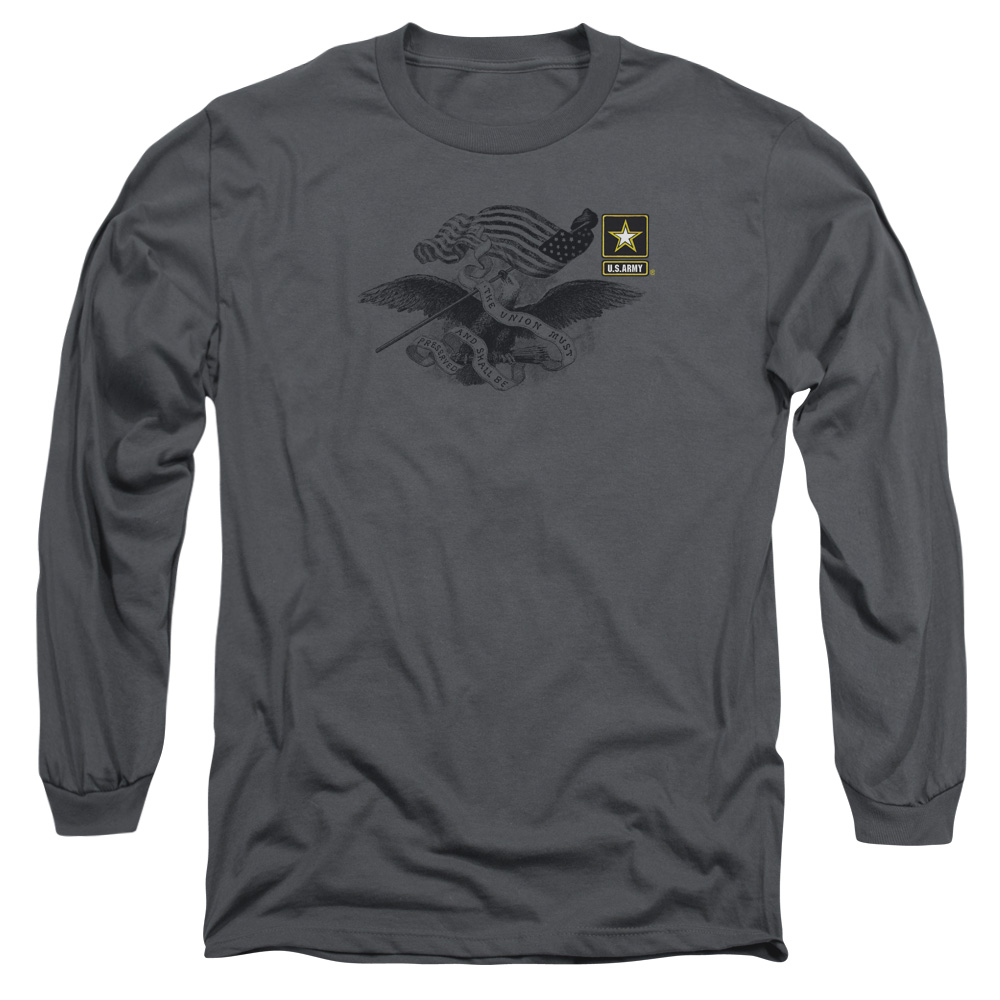 U.S. Army Left Chest Eagle Logo Long Sleeve Shirt