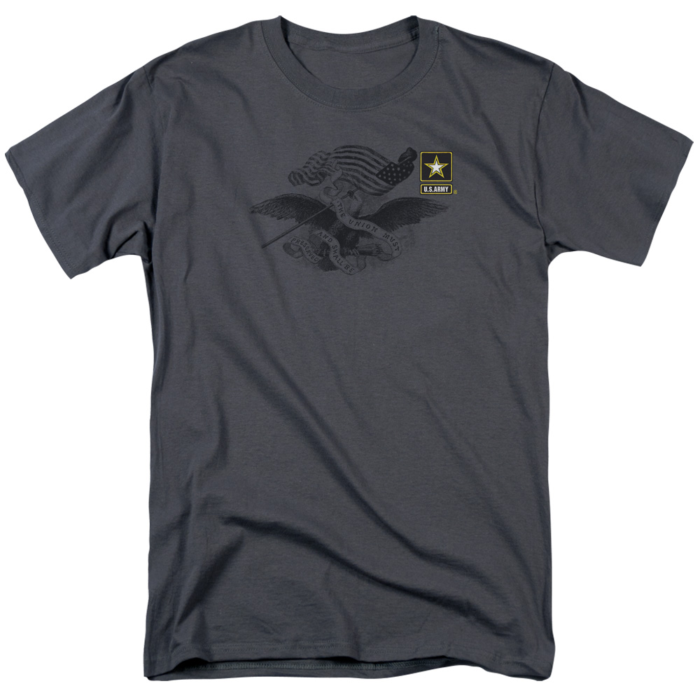 U.S. Army Left Chest Eagle Logo T-Shirt