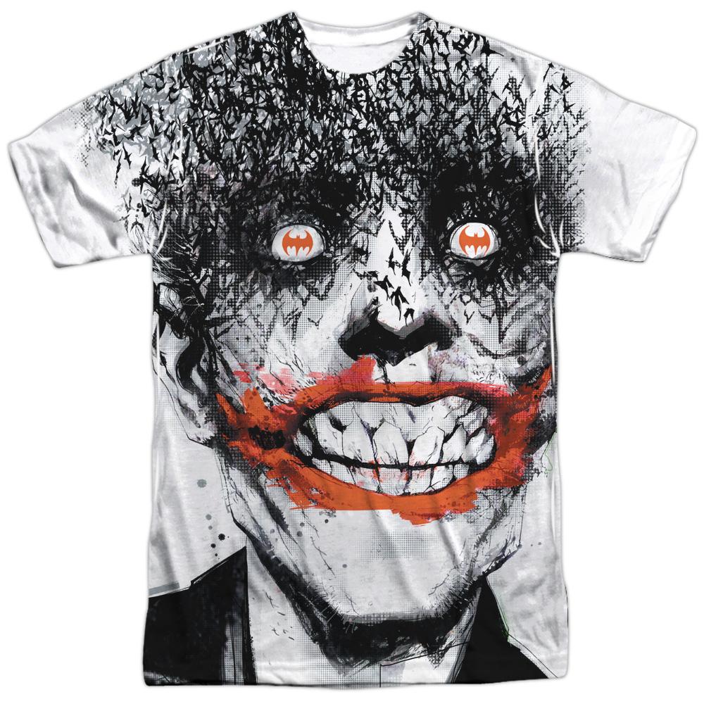 Infinite Crisis Batman Vs Joker Adult All Over Print 100/% Poly T-Shirt