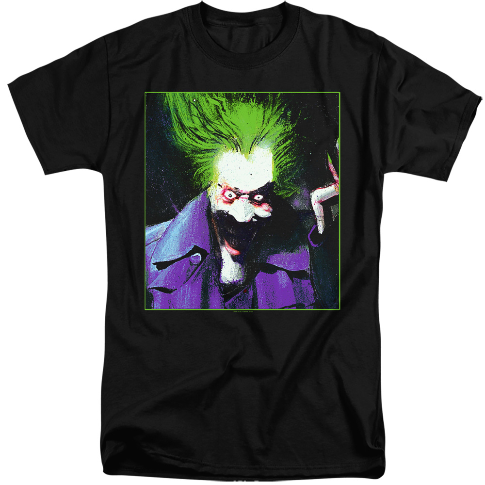 Batman ARKHAM ASYLUM JOKER Tall T-Shirt