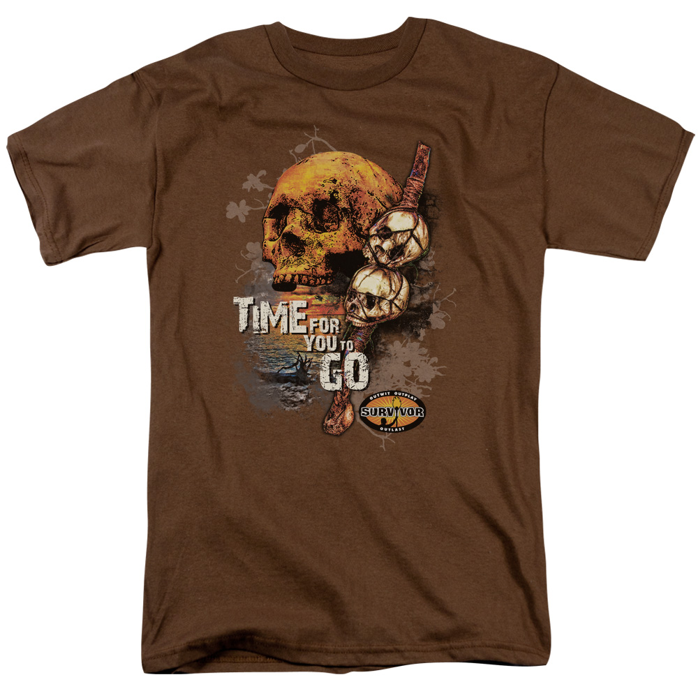 Survivor Time To Go T-Shirt
