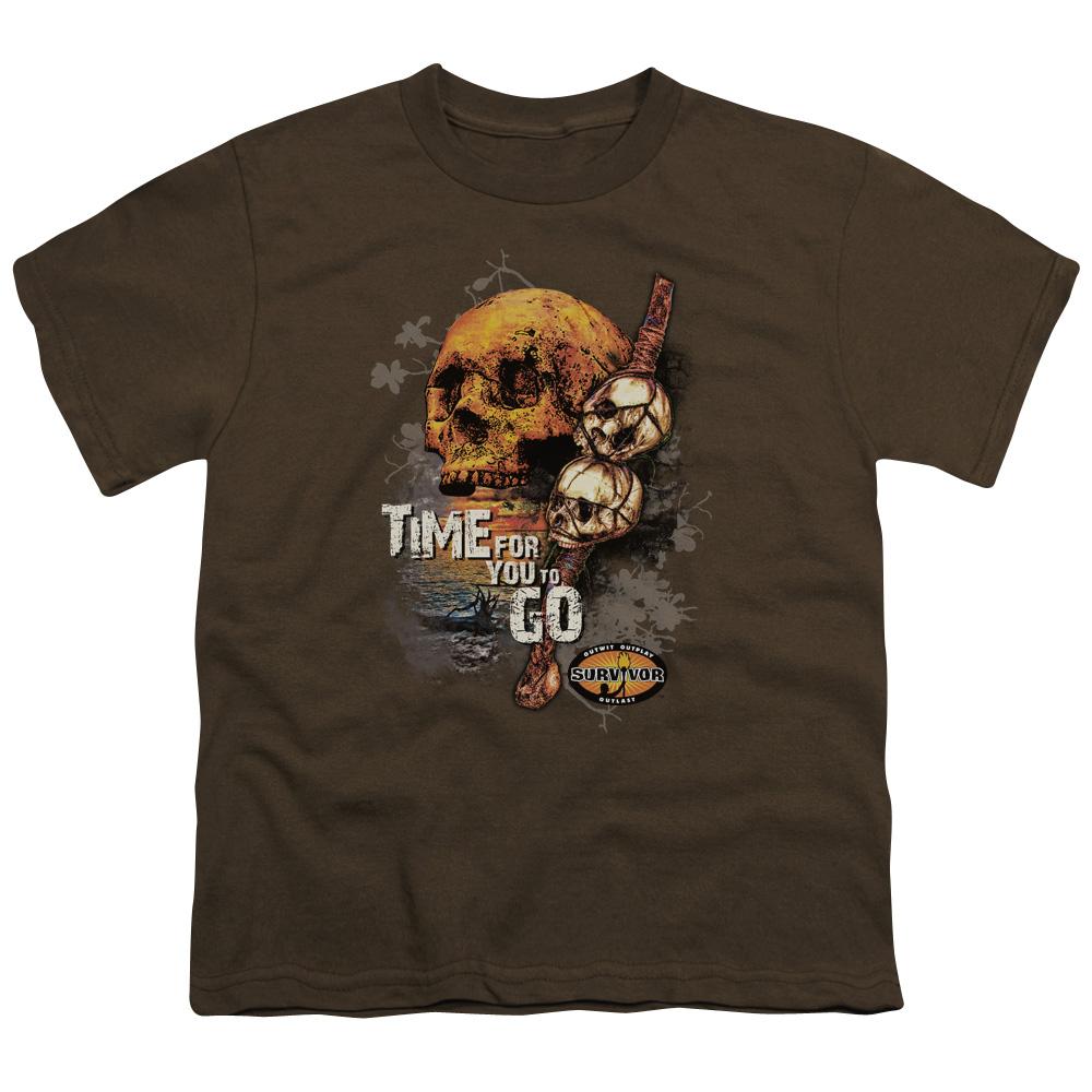 Survivor Time To Go Kids T-Shirt