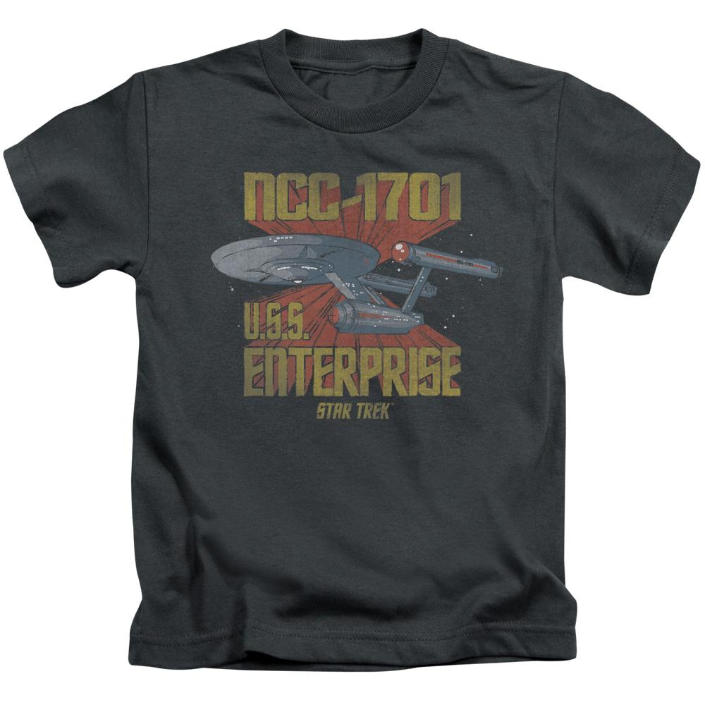 Retro Star Trek NCC1701 U.S.S Enterprise Juvy T-Shirt