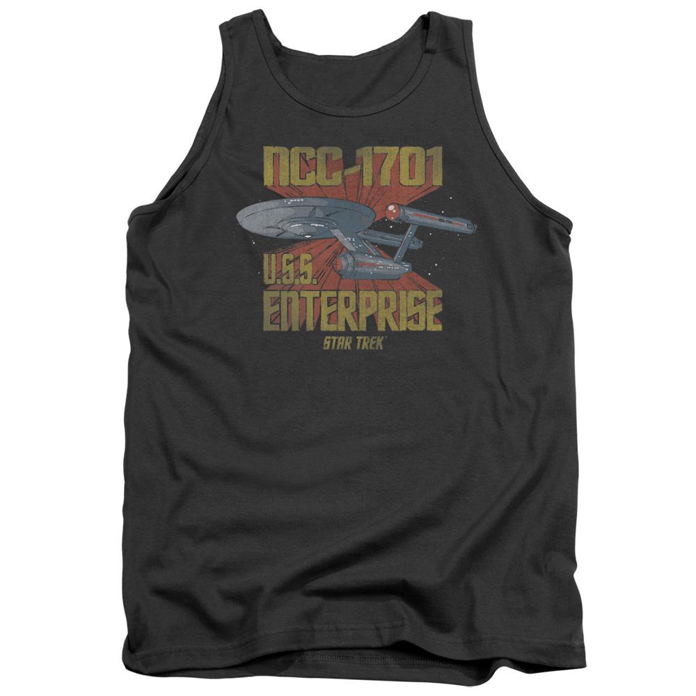 Retro Star Trek NCC1701 U.S.S Enterprise Tank Top