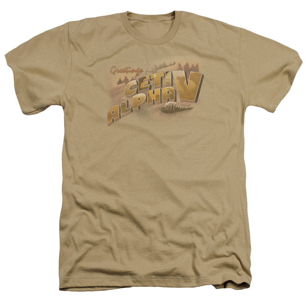 Star Trek Ceti Alpha V Heather T-Shirt