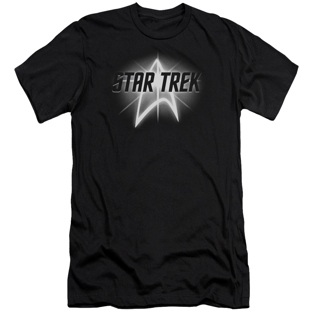 Star Trek Glowing Up Emblem Slim Fit T-Shirt