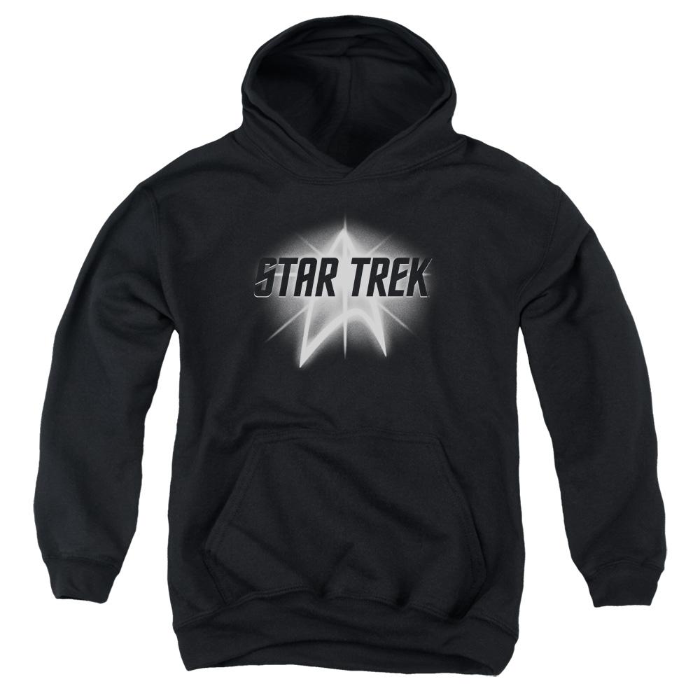 Star Trek Glowing Up Emblem Kids Hoodie