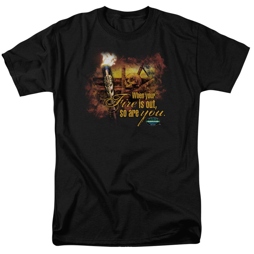 Survivor Fires Out T-Shirt