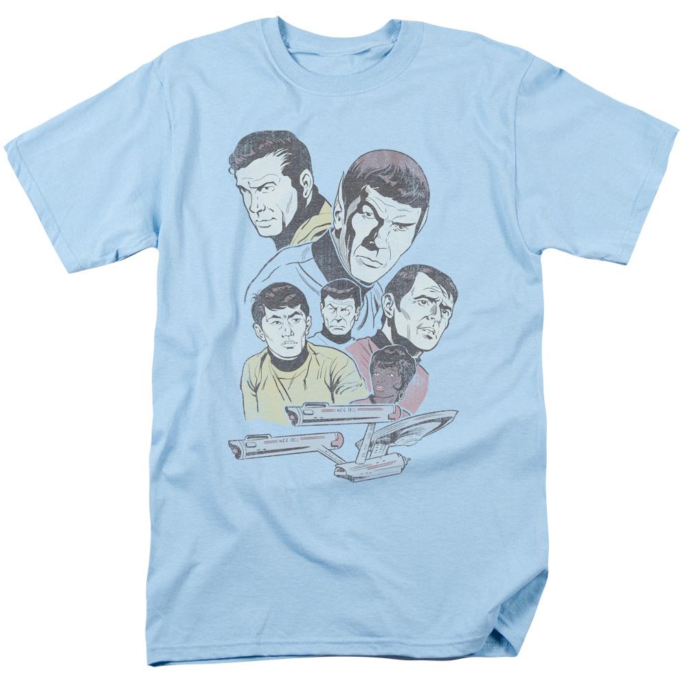 Star Trek Retro Crew T-Shirt
