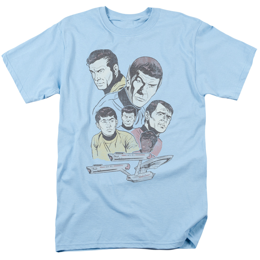 Star Trek Retro Crew T-Shirt