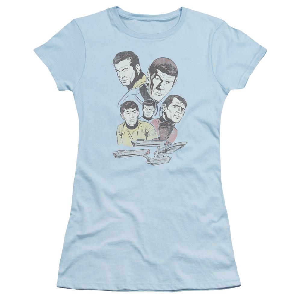 Star Trek Retro Crew Junior Fit T Shirt