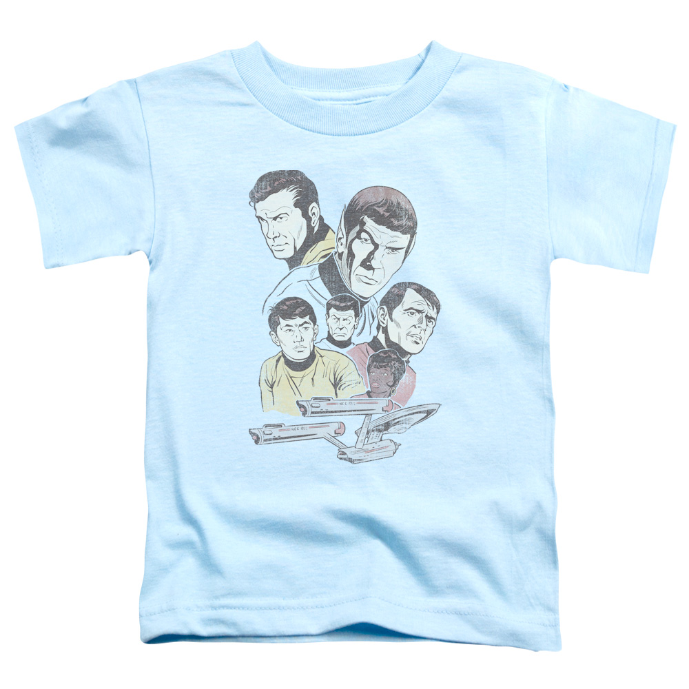 Star Trek Retro Crew Toddler T-Shirt