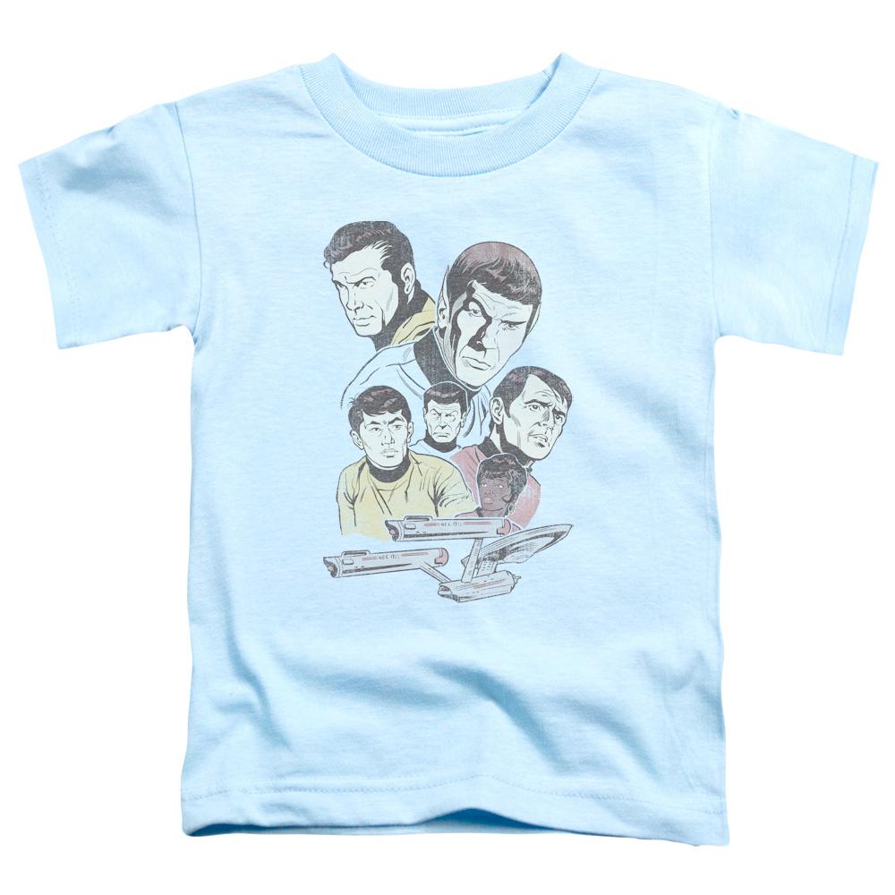 Star Trek Retro Crew Toddler T-Shirt