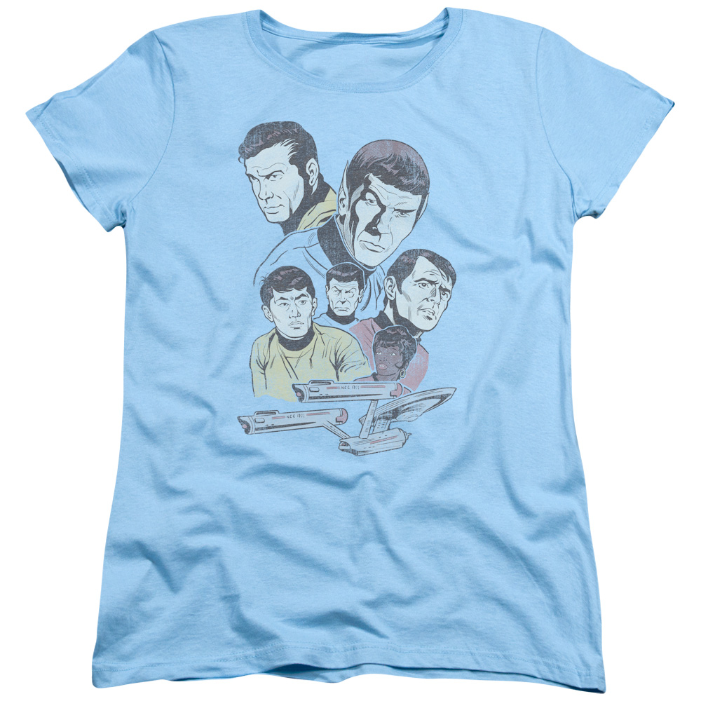 Star Trek Retro Crew Women's T-Shirt