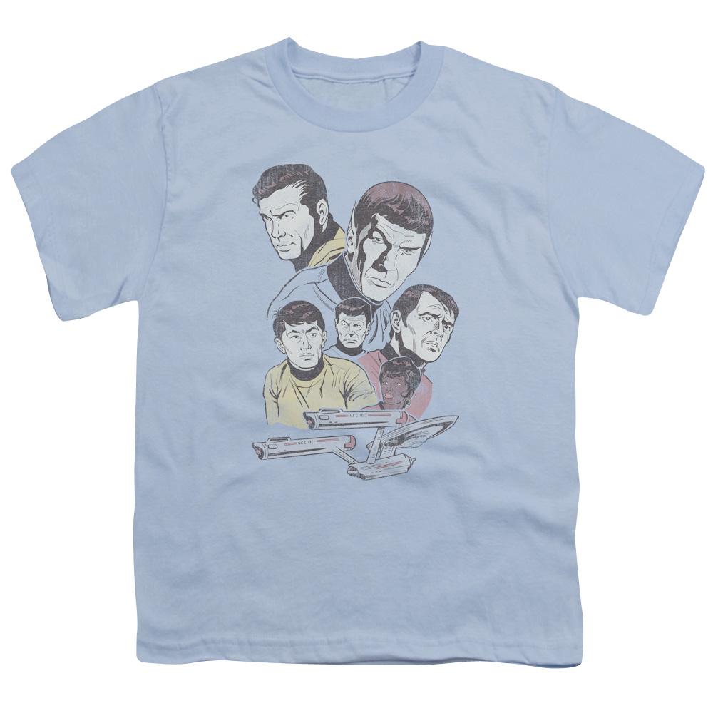 Star Trek Retro Crew Kids T-Shirt