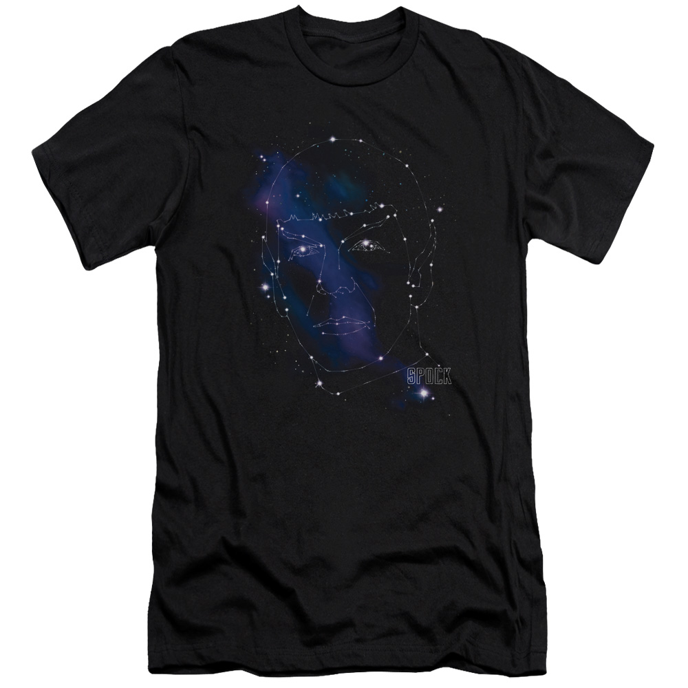 Star Trek Spock Constellation Slim Fit T-Shirt