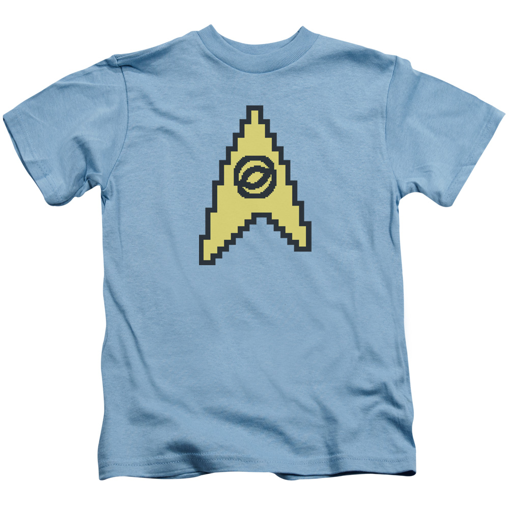 Star Trek 8 Bit Science Juvy T-Shirt