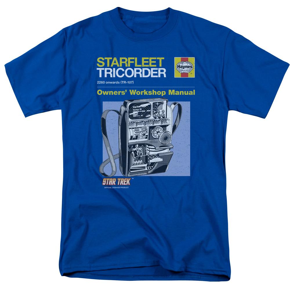 Star Trek Haynes Galileo Shuttlecraft Manual Licensed Adult T-Shirt