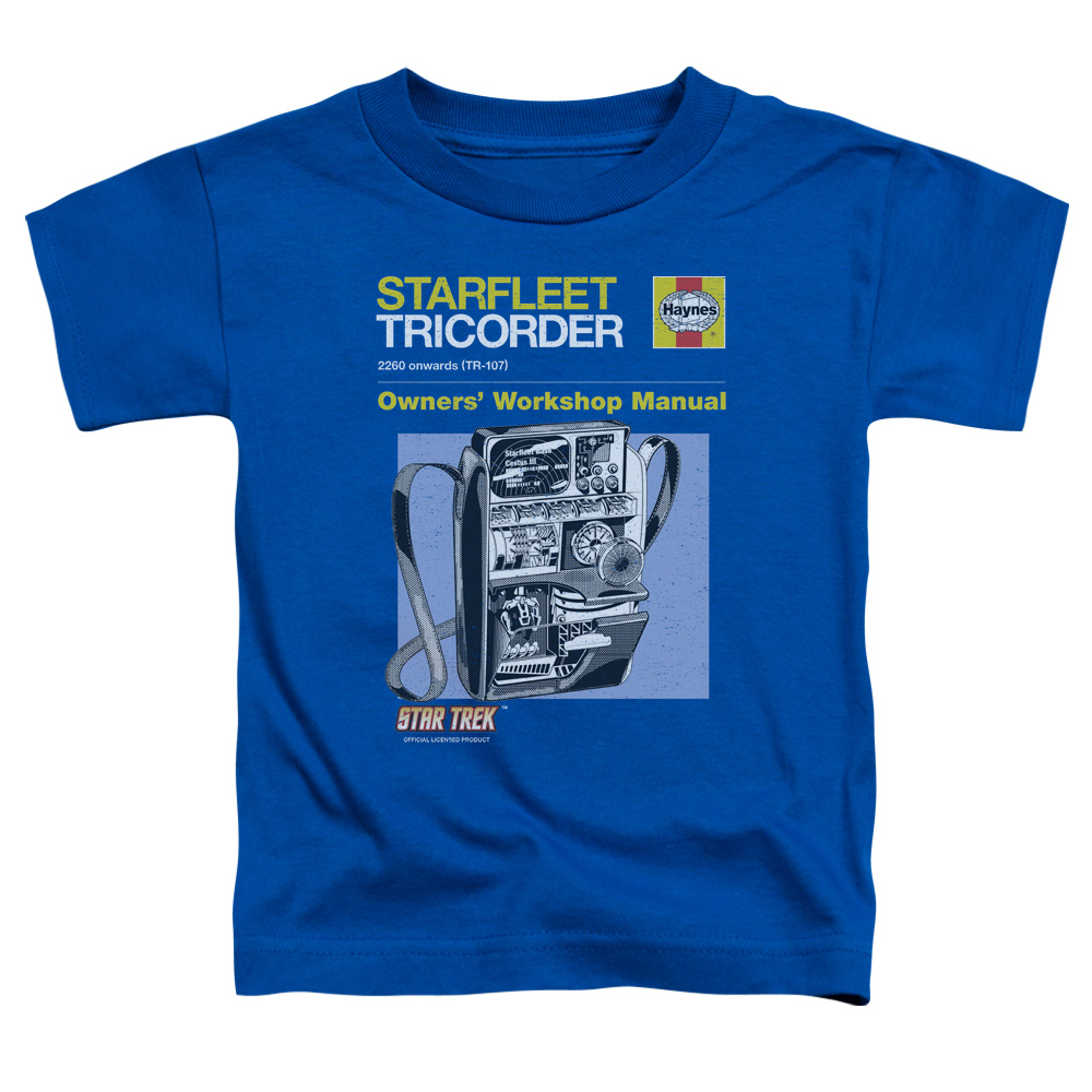Star Trek Tricorder Manual Toddler T-Shirt