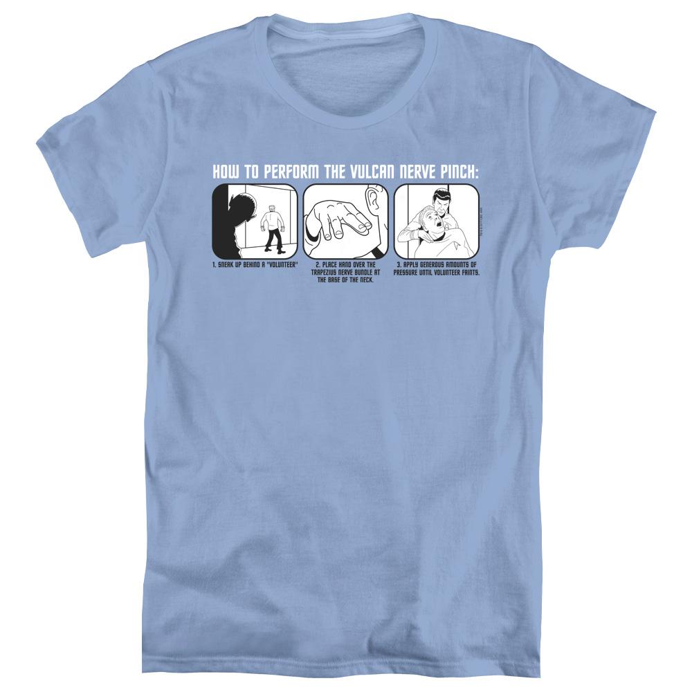 Star Trek Vulcan Nerve Pinch Women's T-Shirt