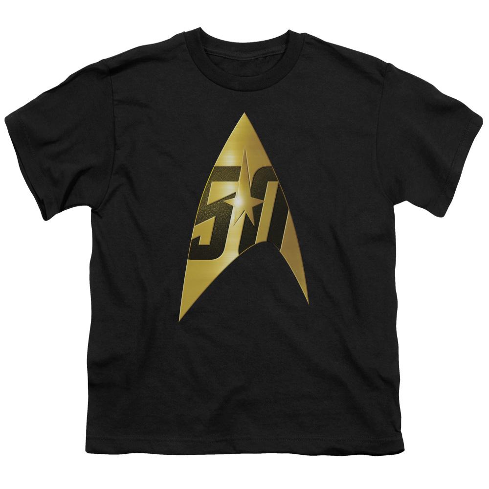 50th Anniversary Delta Star Trek Kids T-Shirt