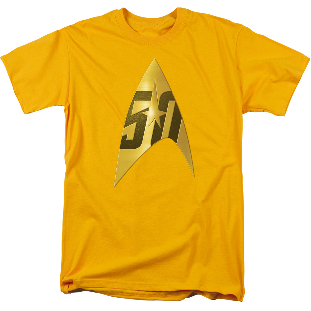 Star Trek 50th Anniversary Delta Gold T-Shirt