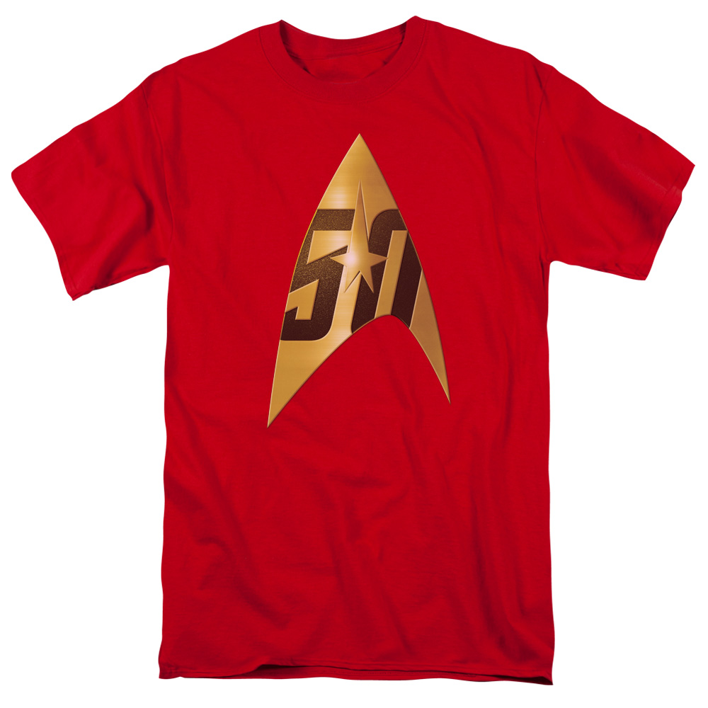 Star Trek 50th Anniversary Delta Red T-Shirt