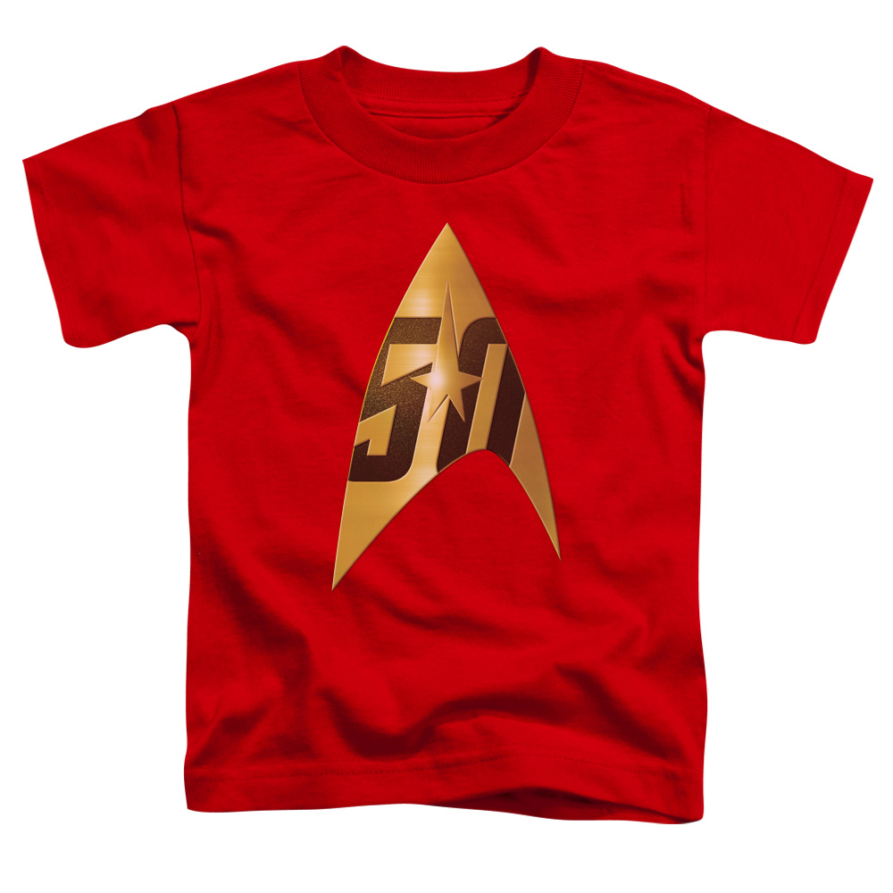 Star Trek 50th Anniversary Delta Red Toddler T-Shirt