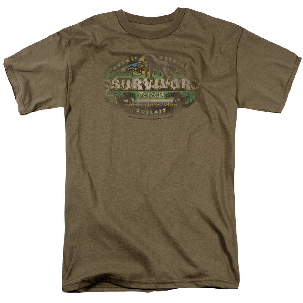 Survivor Gabon Distressed T-Shirt