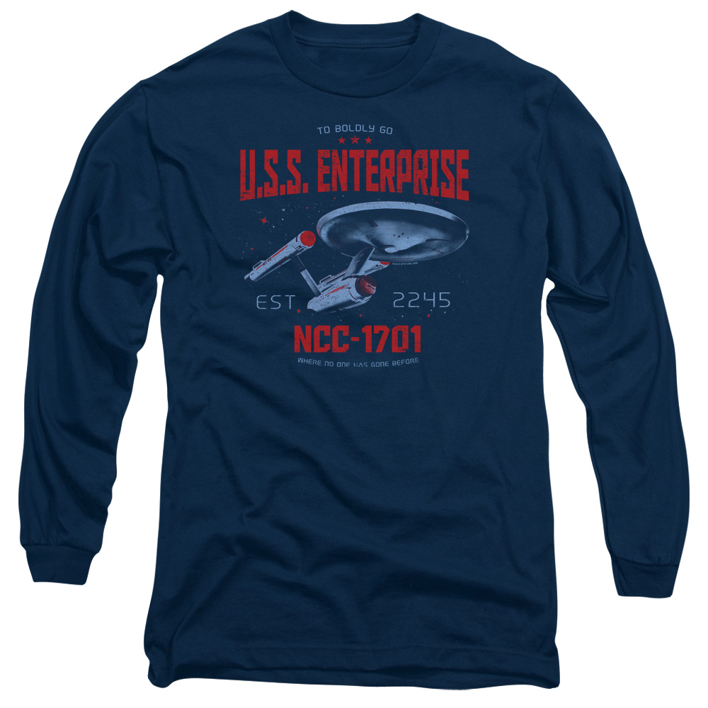 Star Trek Stardate 2245 Long Sleeve Shirt
