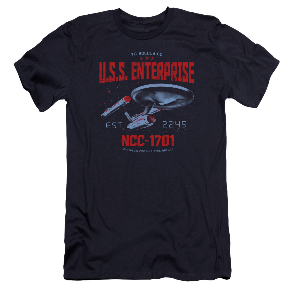 Star Trek Stardate 2245 Premium Slim Fit T-Shirt