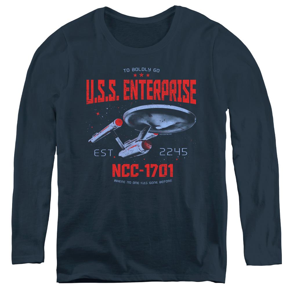 Star Trek Stardate 2245 Women's Long Sleeve Shirt
