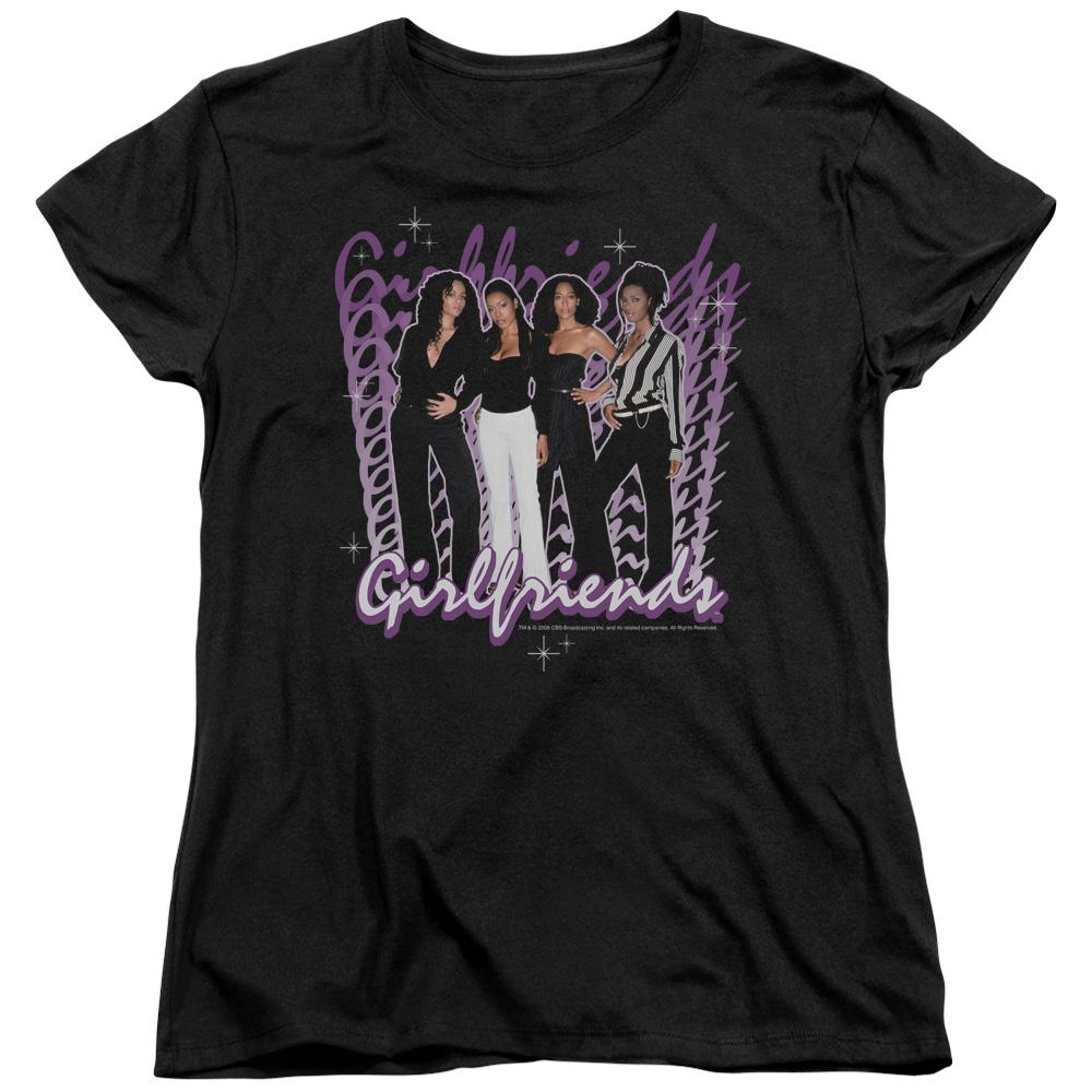 CBS Girlfriends TV Show Women's T-Shirt