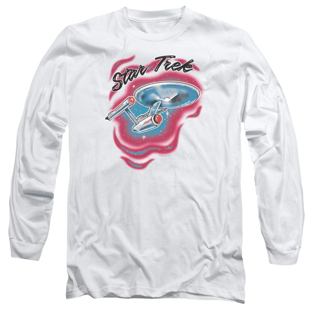 Star Trek Airbrush Long Sleeve Shirt