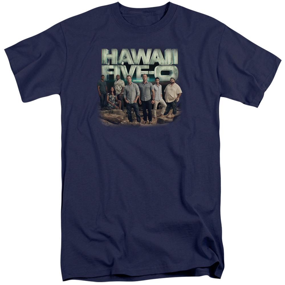 Hawaii 5 0 Cast Tall T-Shirt