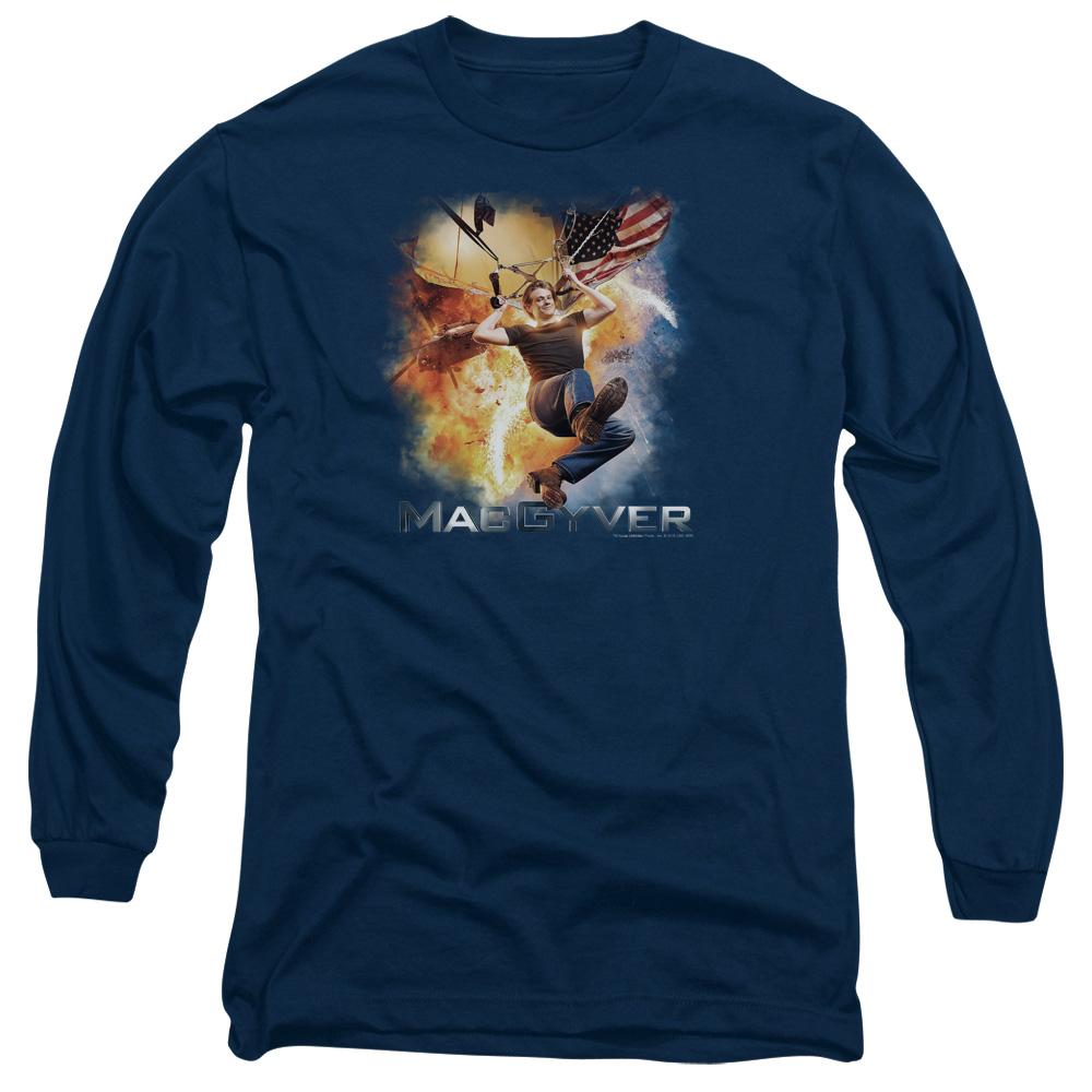 MacGyver Parachute Long Sleeve Shirt