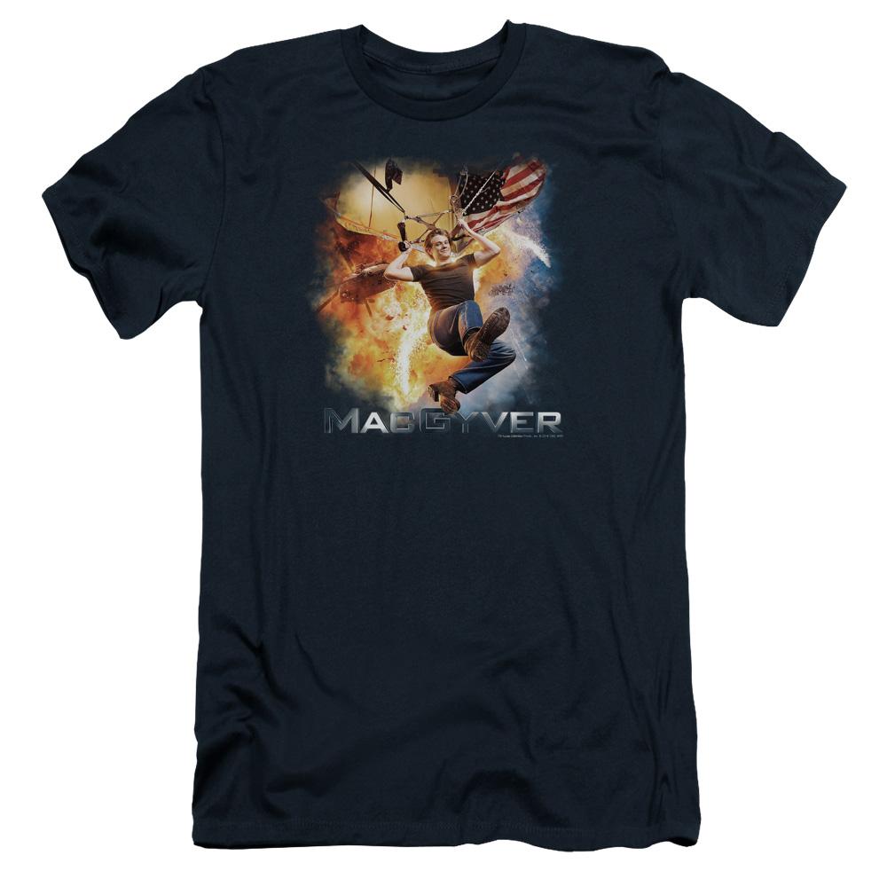 MacGyver Parachute Slim Fit T-Shirt