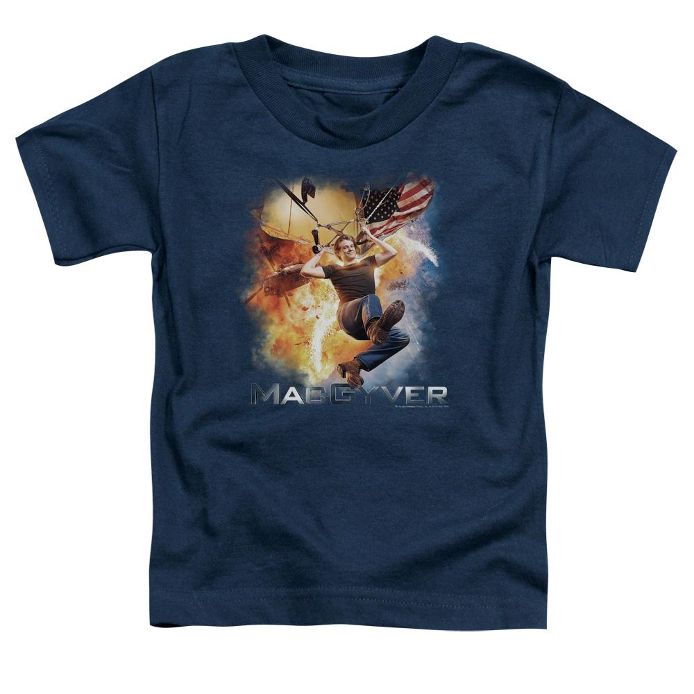 MacGyver Parachute Toddler T-Shirt