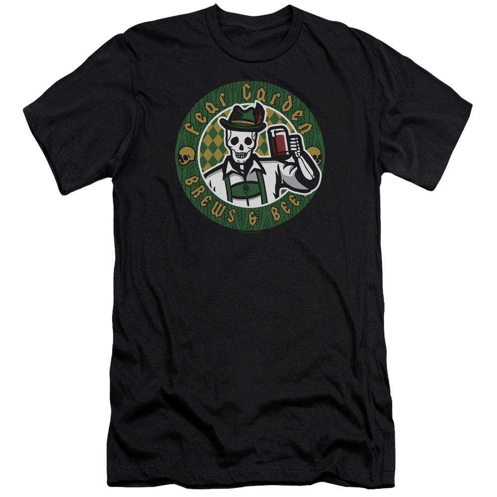Hell Fest Fear Garden Slim Fit T-Shirt