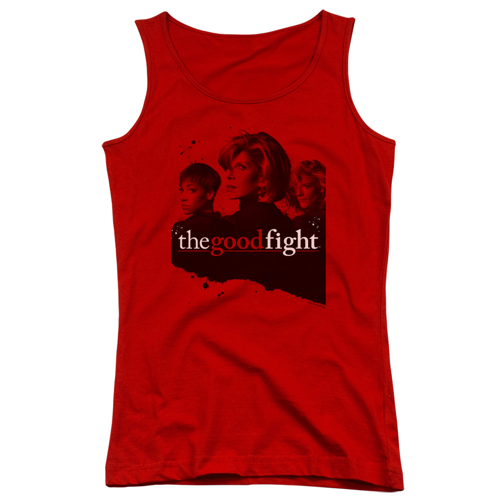 The Good Fight Diane Lucca Maia Juniors Tank Top