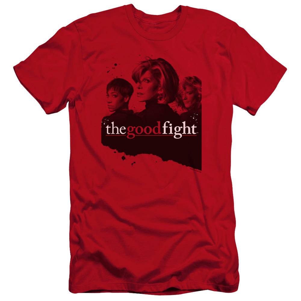 The Good Fight Diane Lucca Maia Premium Slim Fit T-Shirt