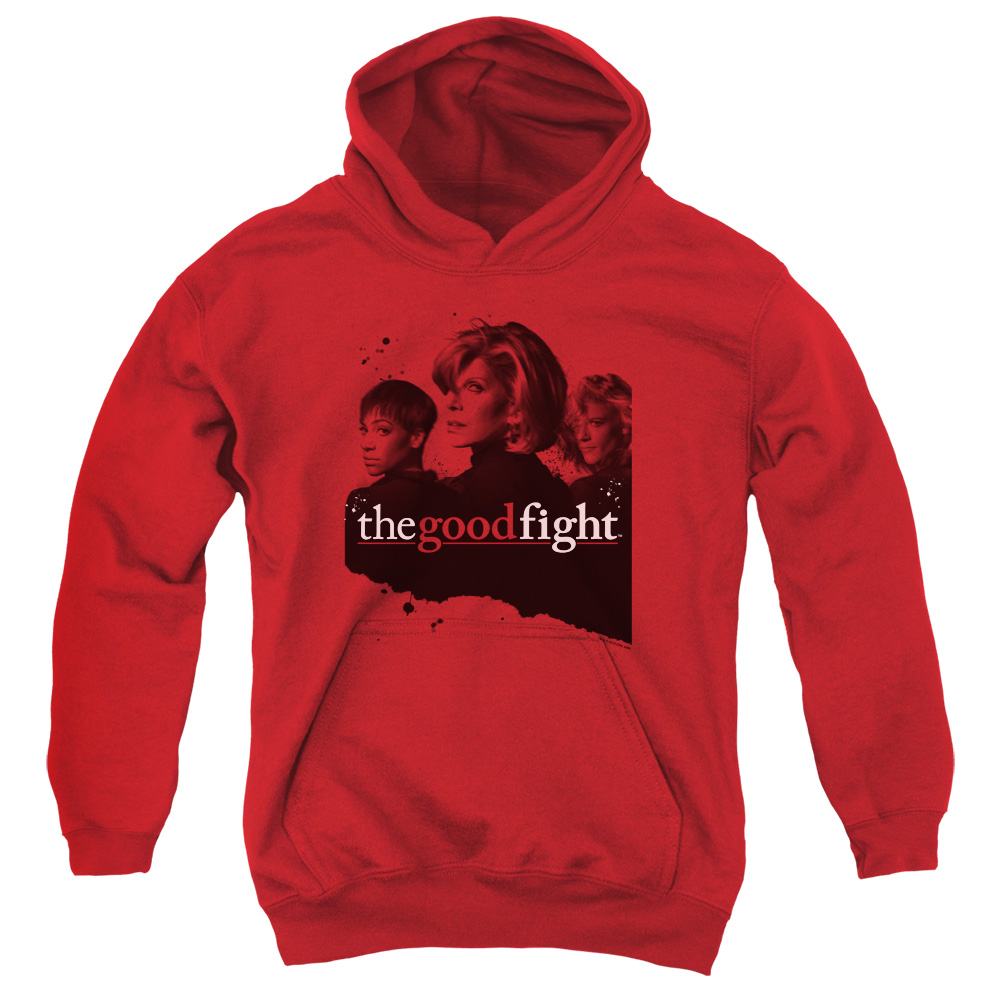 The Good Fight Diane Lucca Maia Kids Hoodie
