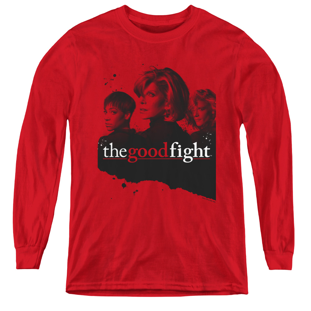 The Good Fight Diane Lucca Maia Kids Long Sleeve Shirt