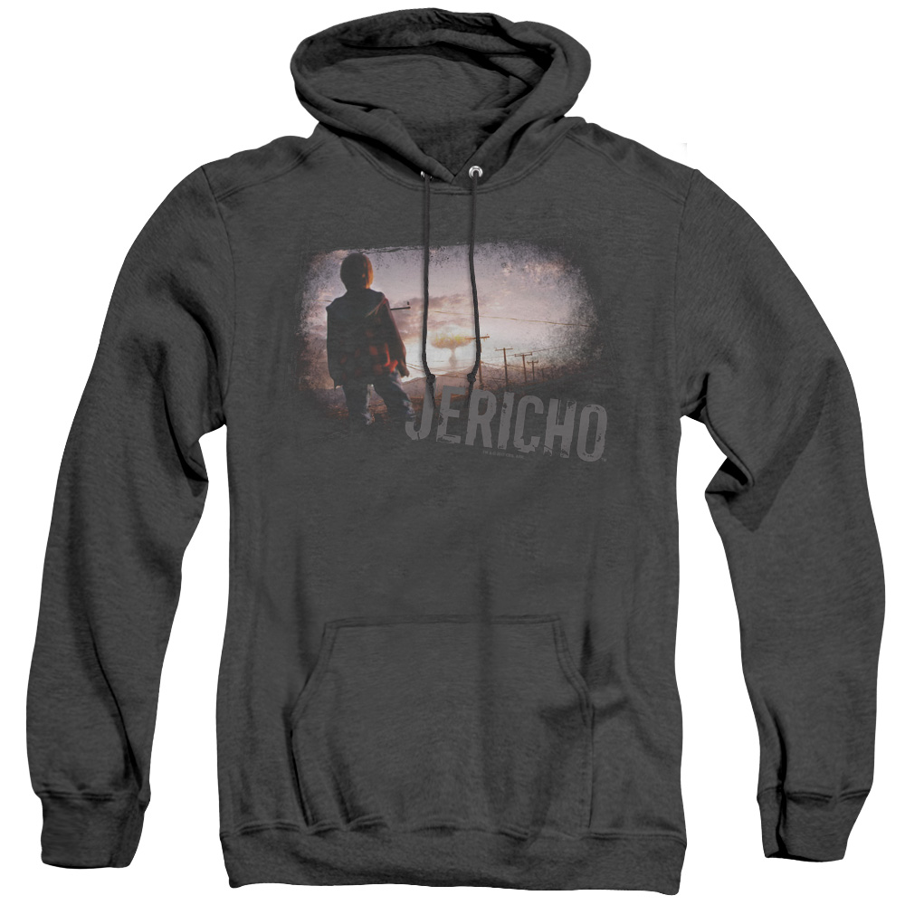 Jericho TV Show CBS Adult Heather Hoodie