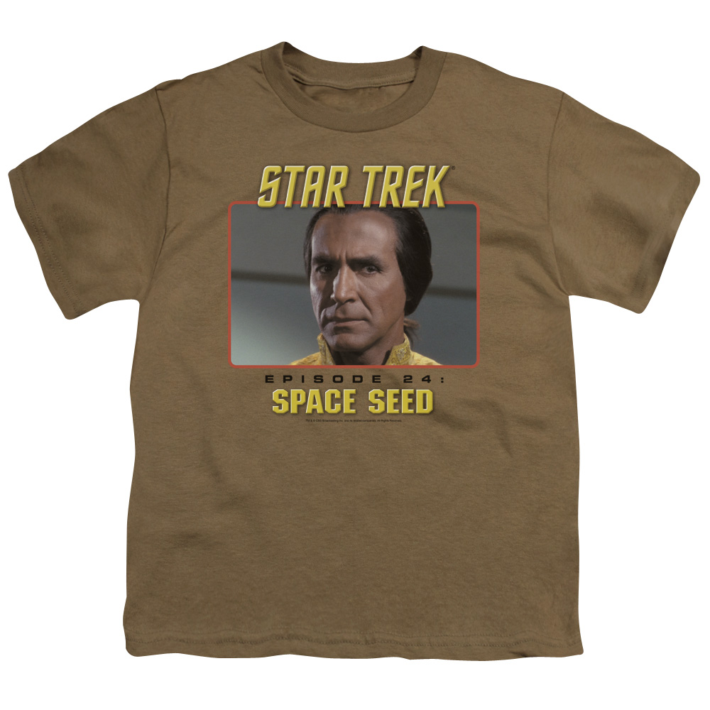 Star Trek Episode 24 Space Seed Kids T-Shirt
