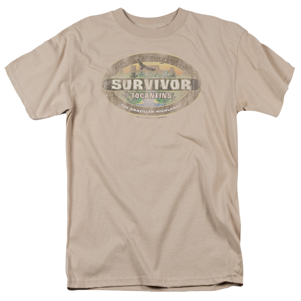 Tocantins Survivor Distressed T-Shirt
