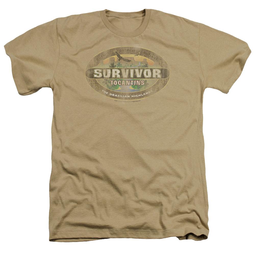 Tocantins Survivor Distressed Heather T-Shirt