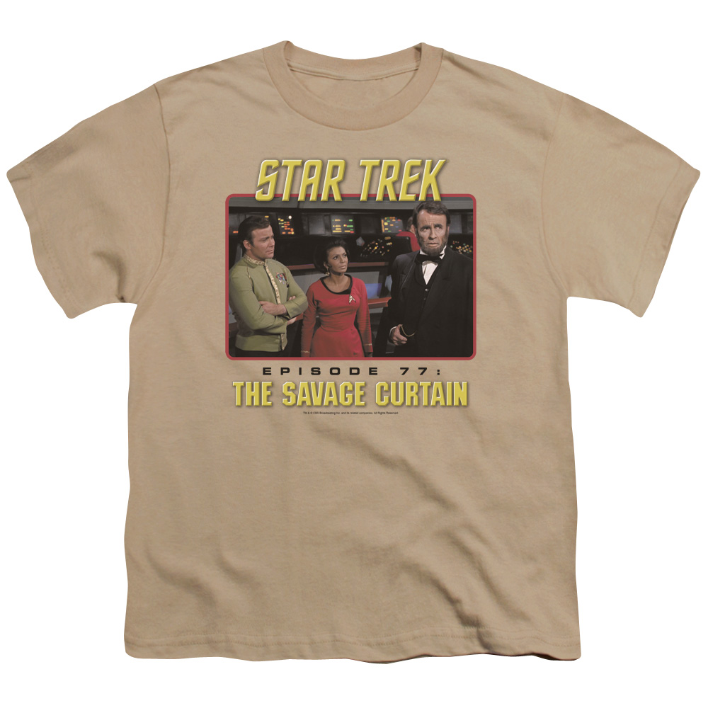 Star Trek The Savage Curtain Kids T-Shirt