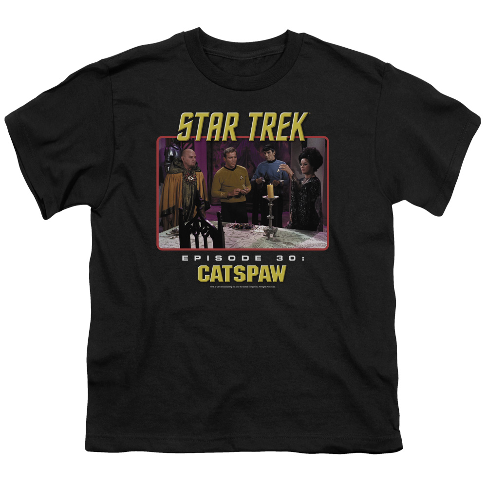 Star Trek Cat's Paw Kids T-Shirt