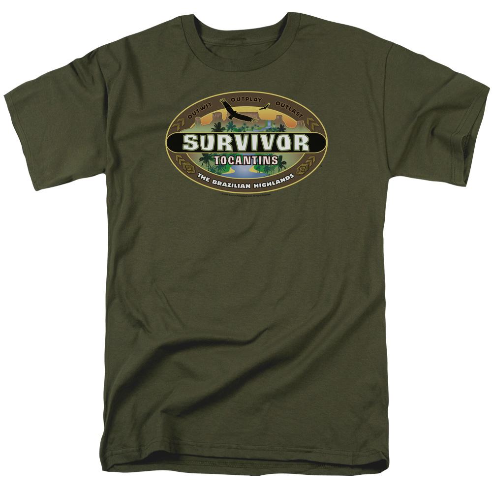 Survivor Tocantins Logo T-Shirt